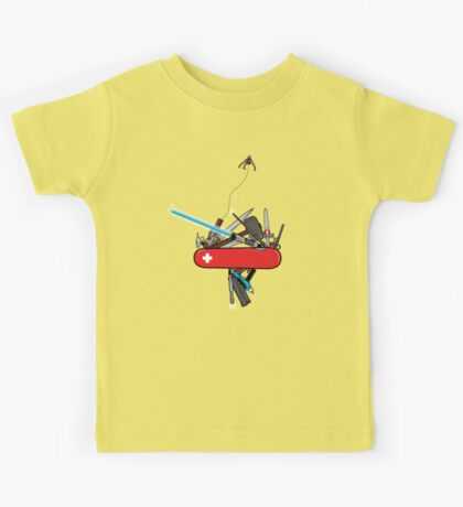 The geek army knife Kids Clothes