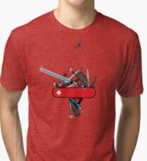 The geek army knife Tri-blend T-Shirt