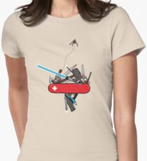 The geek army knife Women's Fitted T-Shirt