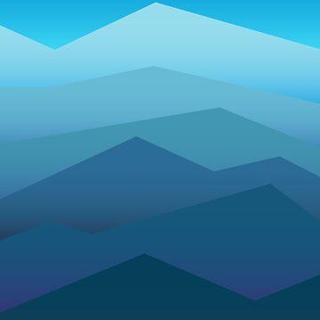 Blue Ridge Mountains #1 by jeastphoto