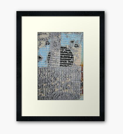 Duct Tape Swan Song Framed Print