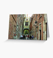 Brugge Greeting Card