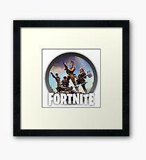 Fortnite Logo Framed Print
