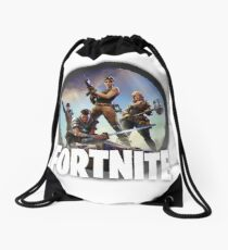 Fortnite Logo Drawstring Bag