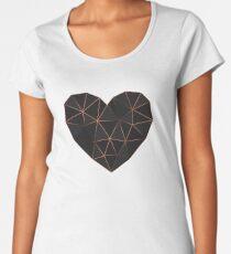 Kintsugi - Gold Rose Women's Premium T-Shirt