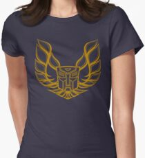Hot Rod AutoBot Women's Fitted T-Shirt