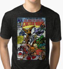 Cartoon Wars Tri-blend T-Shirt