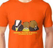 Badger, Beaver and Beaver Unisex T-Shirt