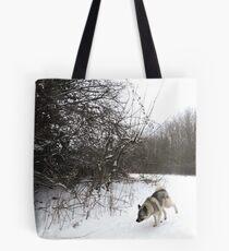 Snow Bend Tote Bag
