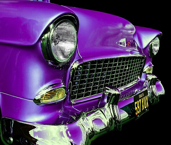 American Icon 1955 Chevy by ScenicViewPics