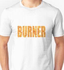 Burner, Burning Man Desert Art Festival Print Slim Fit T-Shirt