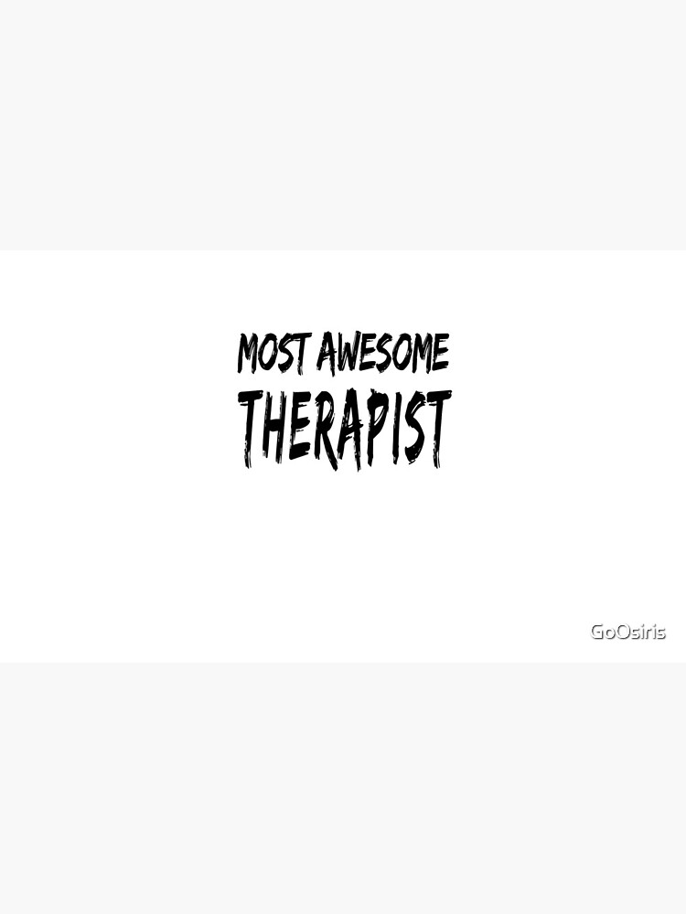 Most Awesome Therapist de GoOsiris