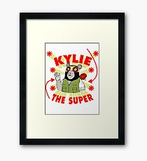 Kylie The Super Framed Print