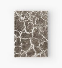 Cracked texture Hardcover Journal