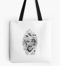 Snake Queen Tote Bag