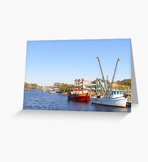 Pirate Parked Greeting Card