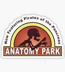 Anatomy Park Sticker