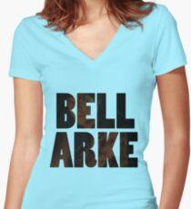 Bellarke Women's Fitted V-Neck T-Shirt