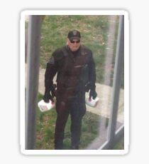 milk police Sticker