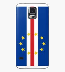 Cape Verde Falg / cabo verde flag Case/Skin for Samsung Galaxy