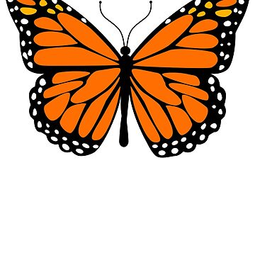 Monarch butterfly by pablomendoza