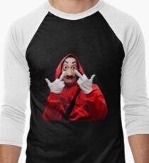 La Casa de Papel Men's Baseball ¾ T-Shirt