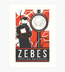 Zebes Applied Sciences Art Print