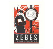 Zebes Applied Sciences Art Print