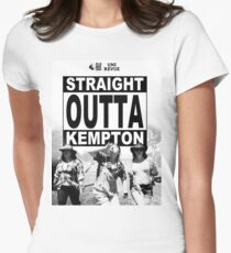 Straight Outta Kempton – Uni Revue Women's Fitted T-Shirt