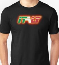 Italy - Flag Logo - Glowing T-Shirt