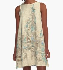 Enchanted Storybook Castle A-Line Dress