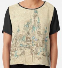 Enchanted Storybook Castle Chiffon Top