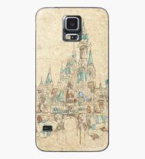 Funda/vinilo para Samsung Galaxy Castillo de cuentos encantados