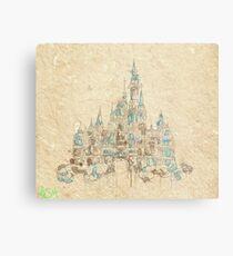 Enchanted Storybook Castle Metal Print