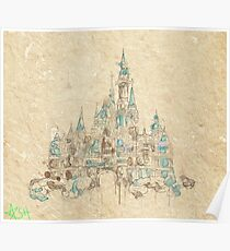 Enchanted Storybook Castle Poster