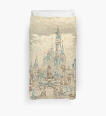 Enchanted Storybook Castle Duvet Cover