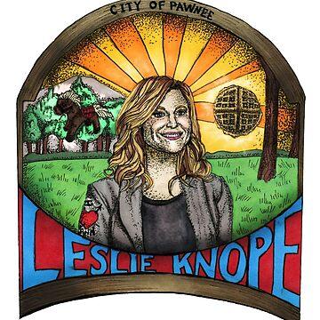 Leslie Knope by erinhopkins
