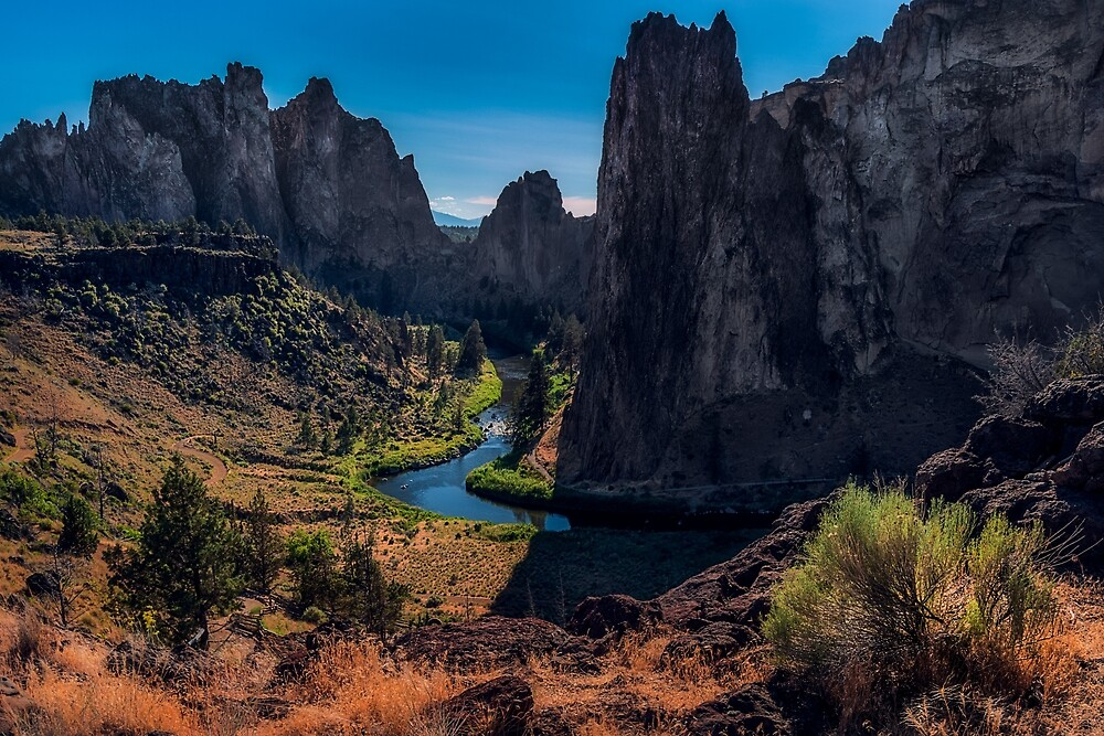 Smith Rock, Oregon by mattmacpherson