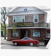 Back to the '60s - 1966 Volvo P1800S > Poster