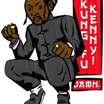 Kung-Fu Kenny by BlackHerb