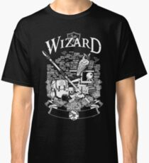 RPG Class Series: Wizard - White Version Classic T-Shirt