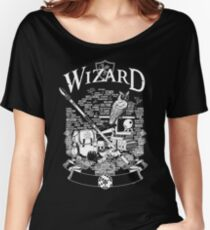 RPG Class Series: Wizard - White Version Women's Relaxed Fit T-Shirt