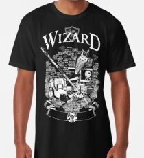 RPG Class Series: Wizard - Weiße Version Longshirt