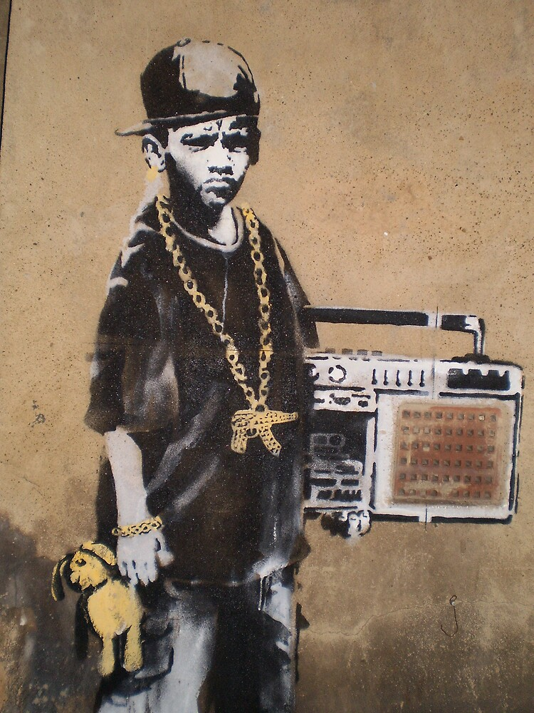 Banksy Kid by runjoerun