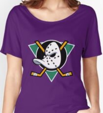 Anaheim  Ducks, Hockey Women's Relaxed Fit T-Shirt