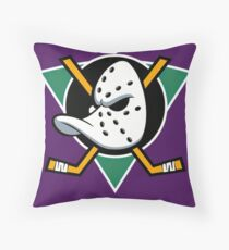Anaheim  Ducks, Hockey Throw Pillow