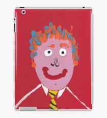 Chris - Face à flaques - Martin Boisvert iPad Case/Skin