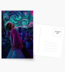 """Sternenklare Nacht"" Postkarten"