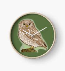 Little Owl Clock