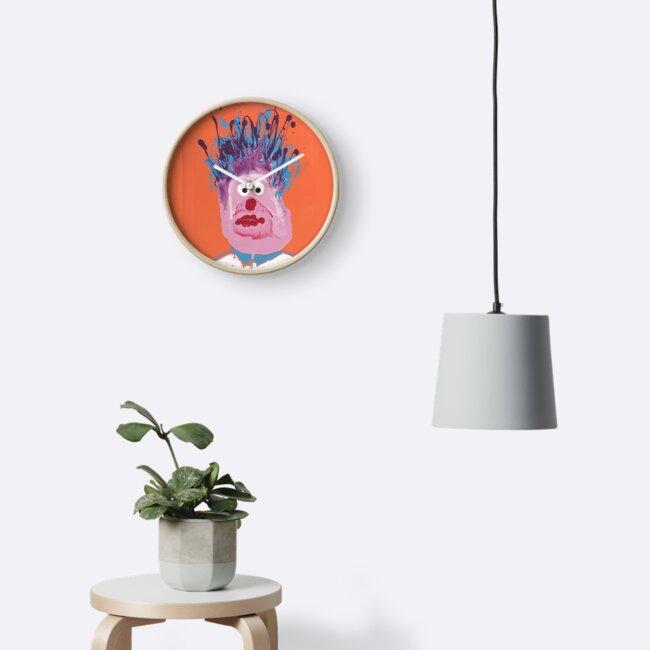 « Bob le clown - Martin Boisvert - Faces à flaques » par Martin Boisvert